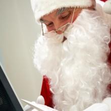 Christmas Tweets from Santa